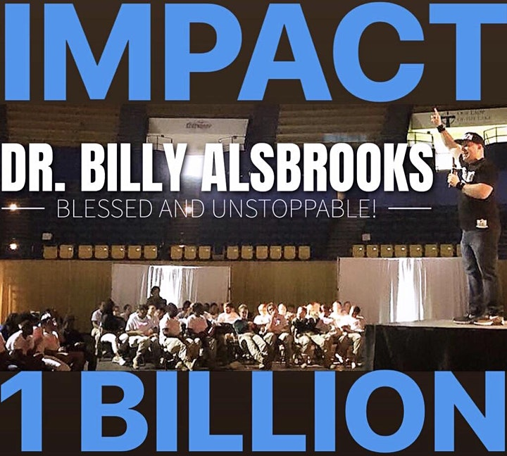 (NEW YORK) BLESSED AND UNSTOPPABLE: Billy Alsbrooks Motivational Seminar image