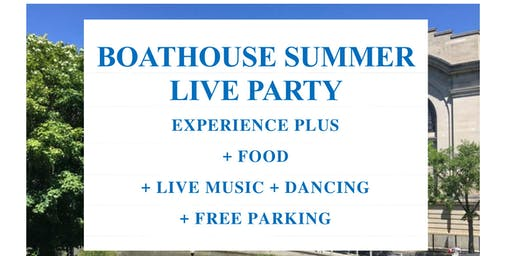 SOCIAL EVENT - BOATHOUSE SUMMER LIVE PARTY - OTTAWA-ONTARIO