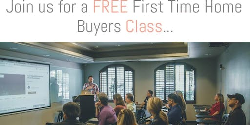 Free First-Time Home Buyer Class