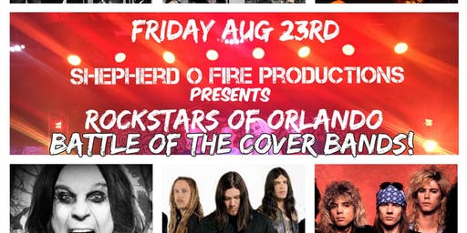 Rockstars Of Orlando Battle Of The Cover  Bands!