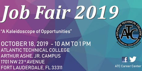 Community Job Fair 2019- A Kaleidoscope of Opportunities tickets