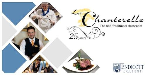 25th Anniversary Celebration of La Chanterelle at Endicott College