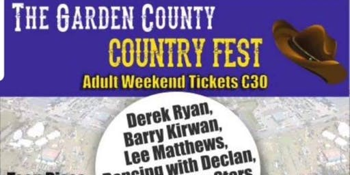 Garden County Country Fest (SATURDAY NIGHT ONLY, NO WRISTBAND)