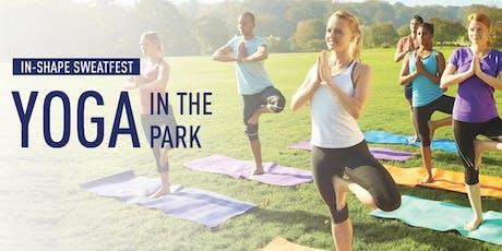 In-Shape #Sweatfest: Yoga in the Park tickets