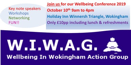 Wellbeing Conference hosted by Wellbeing in Wokingham Action Group (WIWAG) tickets