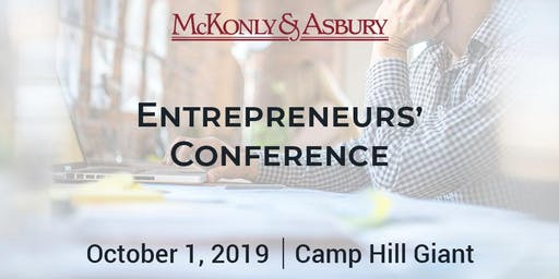 McKonly & Asbury's 2019 Entrepreneurs' Conference
