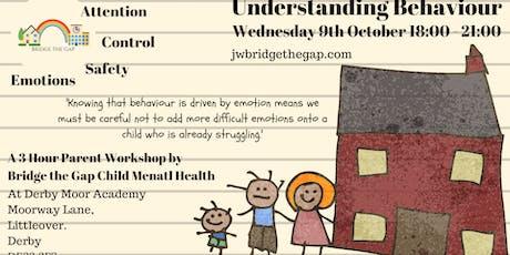 Understanding Behaviour Parent Workshop tickets