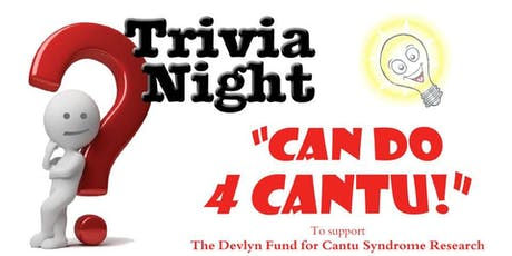 Can Do 4 Cantu Trivia Night! tickets