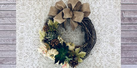 Living Fall Wreath Party tickets