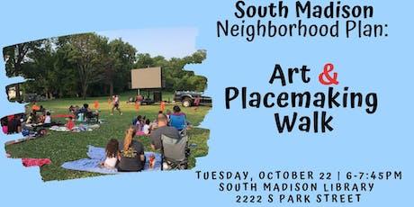 Art & Placemaking Walk tickets