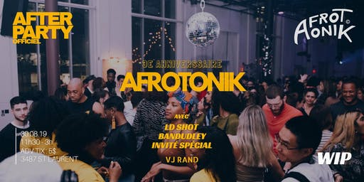 After Party Afrotonik au WIP