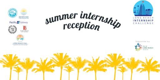 2019 Mayor's Internship Challenge Summer Reception