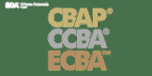ECBA™ | CCBA® | CBAP® Study Group - 23 October 2019