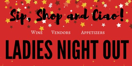 Sip, Shop and Ciao! tickets
