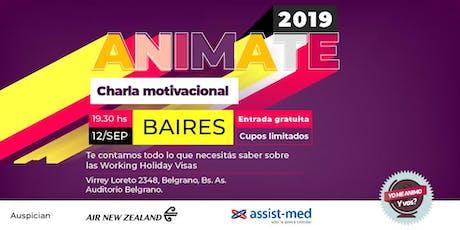 ANIMATE 2019 - Bs. As. entradas