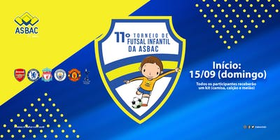 11º Torneio de Futsal Infantil da Asbac