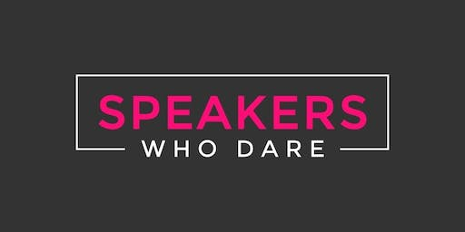 Speakers Who Dare NYC 2020