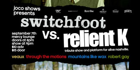 Switchfoot vs Relient K Tribute tickets