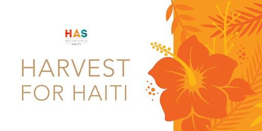 Harvest for Haiti