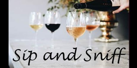 Sip and Sniff tickets