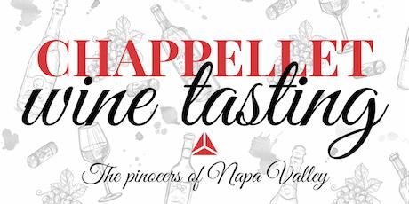 Chappellet Wine Tasting tickets
