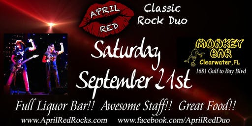 April Red is Back to ROCK the Monkey Bar in Clearwater!