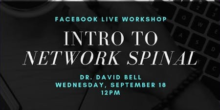 Introduction to Spinal Care Facebook Live Workshop
