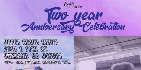 Color HerStory 2 year Anniversary Celebration tickets