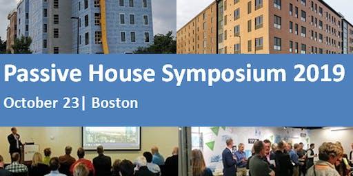 Passive House Symposium 2019