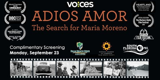 VOCES: Adios Amor The Search for Maria Moreno