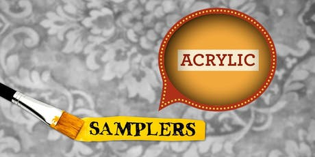 Acrylic Painting Sampler • October 6 tickets