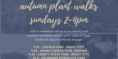 Autumn Plant Walks tickets