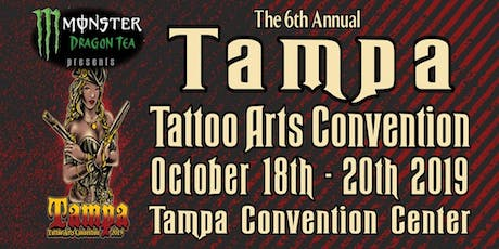 The 6th Annual Tampa Tattoo Arts Convention tickets