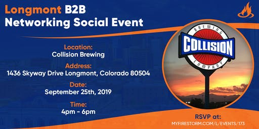 Longmont B2B Networking Social Event