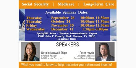 Social Security, Medicare, and Long-Term Care Seminar tickets