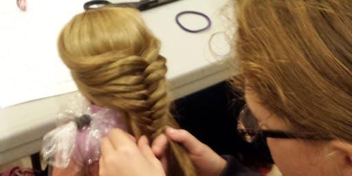 Girl AGain Workshop: Doll Hair Do's & Don'ts