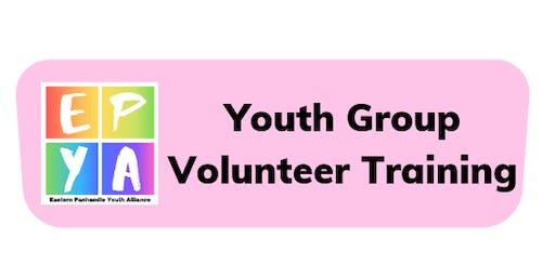 Youth Group Volunteer Training