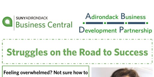 Struggles On The Road to Success-Adirondack Business Development Partnership Program
