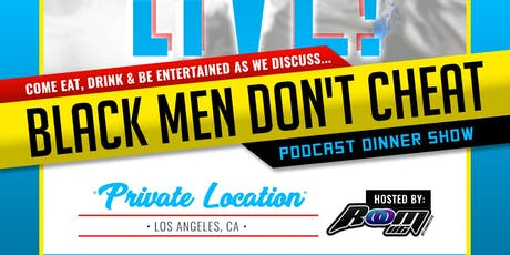 Afterparty Live Los Angeles - Black Men Don't Cheat tickets