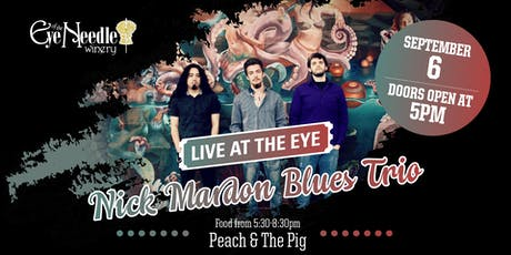 LIVE at the Eye:  The Nick Mardon Trio tickets