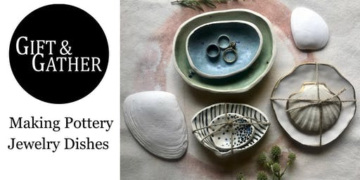 Making Pottery Jewelry Dishes