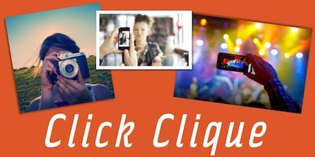 Click Clique tickets