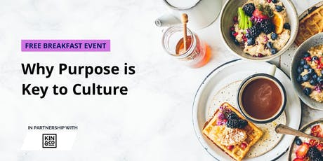 Why Purpose is Key to Culture tickets