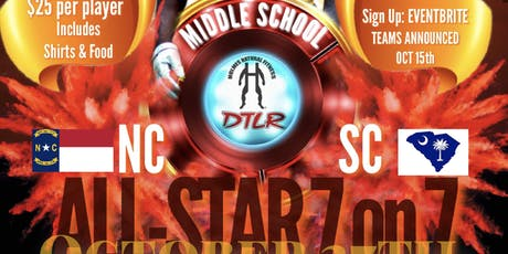Middle School All-Star 7 on 7 tickets