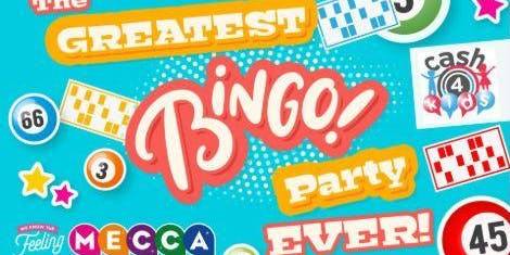 The Biggest Bingo party EVER at Mecca Swansea Feat Bonkers Bingo