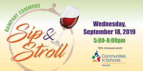 Rampart Commons Sip & Stroll 2019 tickets