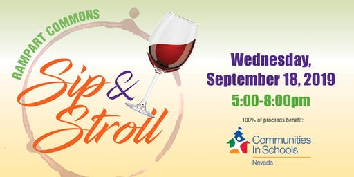 Rampart Commons Sip & Stroll 2019