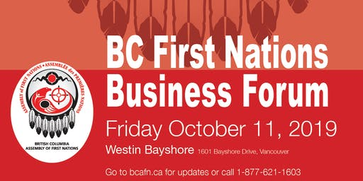 BC First Nations Business Forum Vancouver 2019