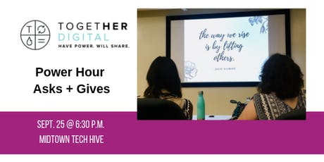 Together Digital Cleveland September Members Only: Power Hour Asks + Gives tickets