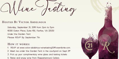 Victor Abdelnour Client Appreciation Wine Tasting